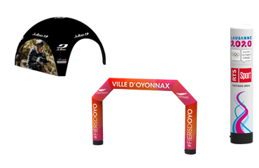 Vente en ligne de tente événementielle au meilleur prix sur Evoprint.fr
